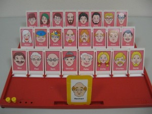 "The fun is trying to guess when you play ""Guess Who?"""