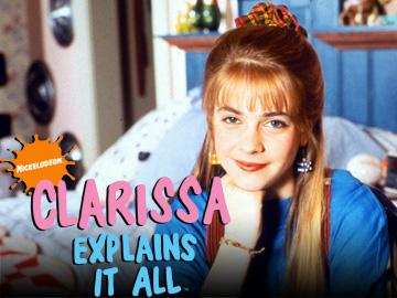 Melissa Joan Hart in Clarissa Explains It All.