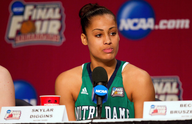 NCAA Womens Basketball: Division I Championship-Notre Dame vs Connecticut
