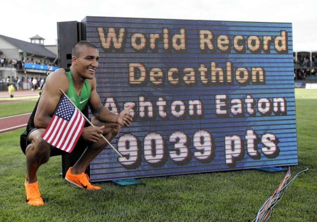 World Record Decathlete